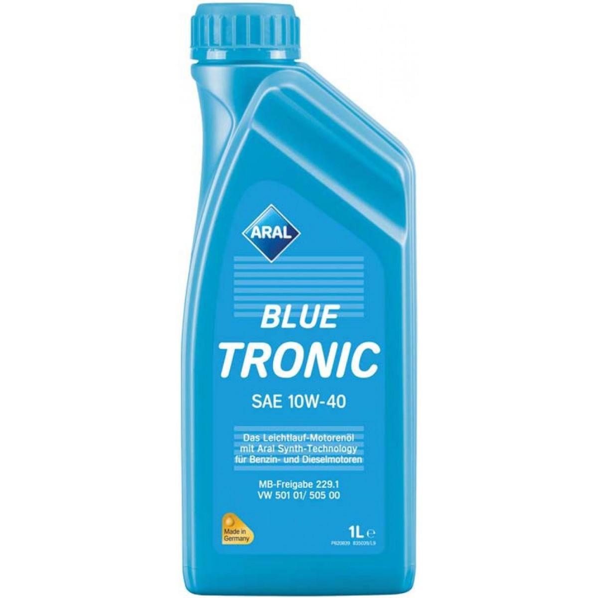 10W40 ARAL Blue Tronic 1L