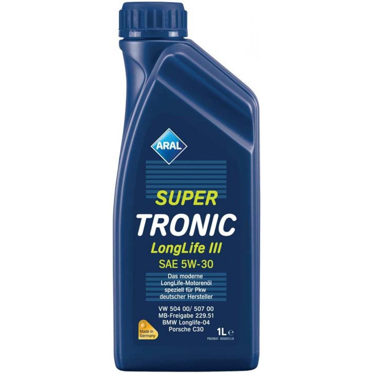5W30 ARAL Super Tronic LL 1L