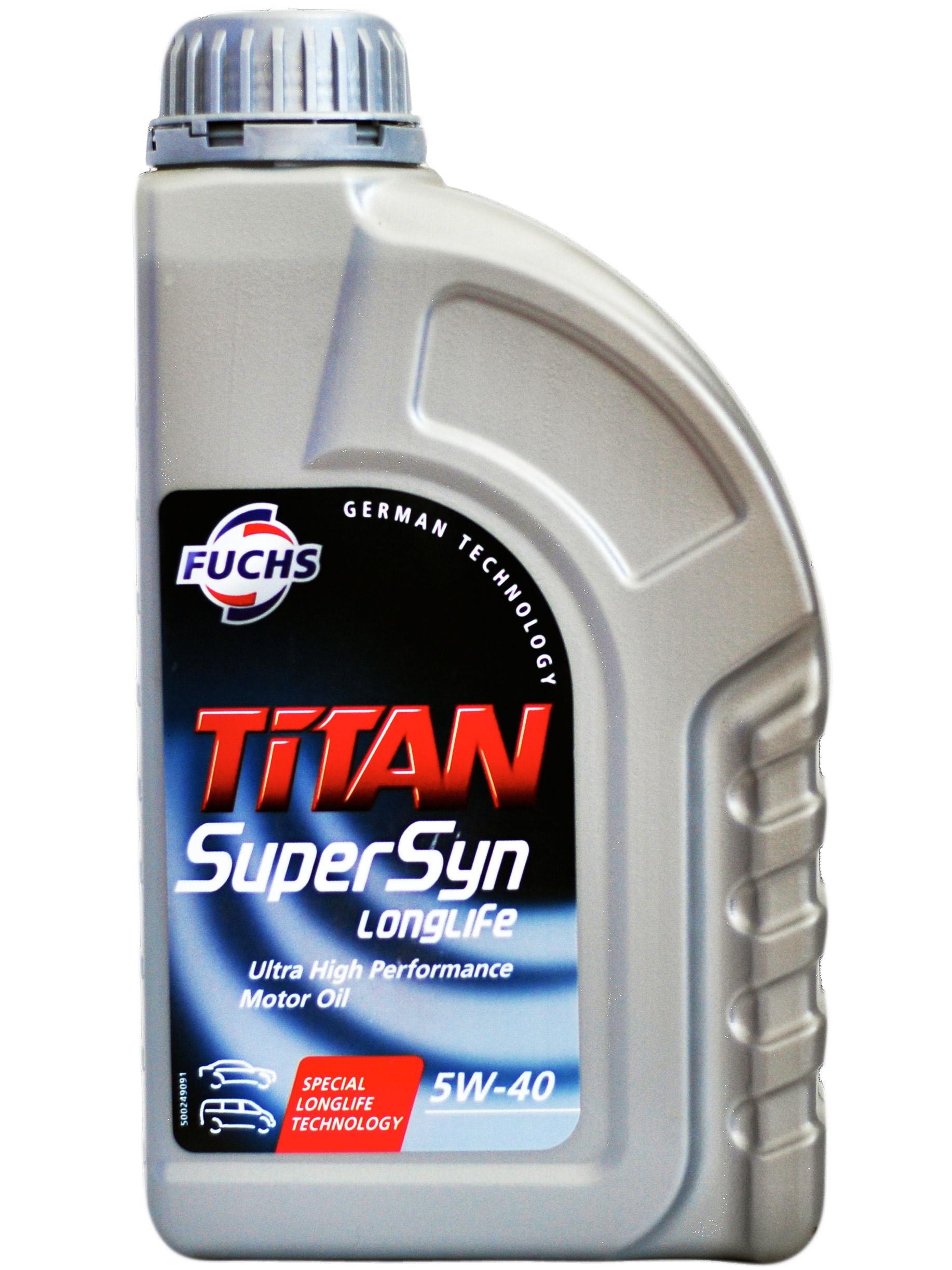 5W40 FUCHS TITAN Supersyn Longlife 1L