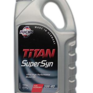 5W40 FUCHS TITAN Supersyn Longlife 4L