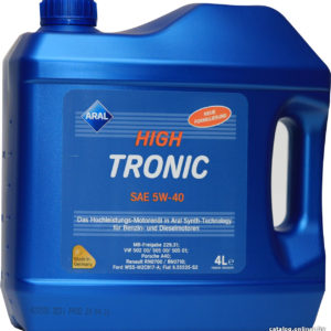 Aral HighTronic SAE 5w40 4L