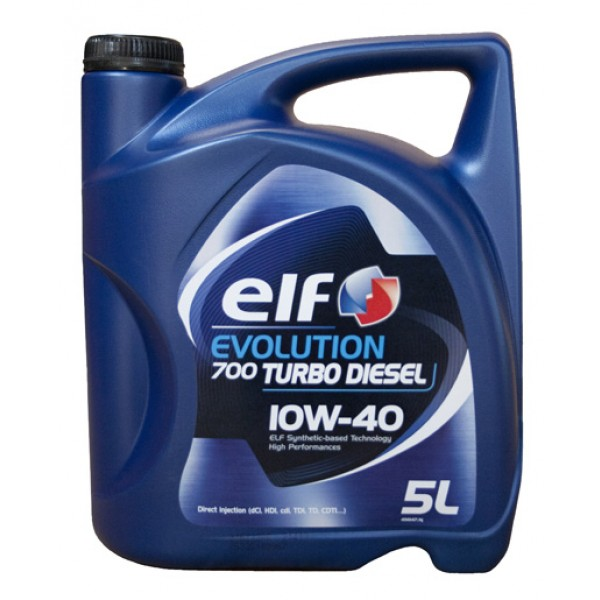 ELF Evolution 700 Turbo Diesel 10w40 5L