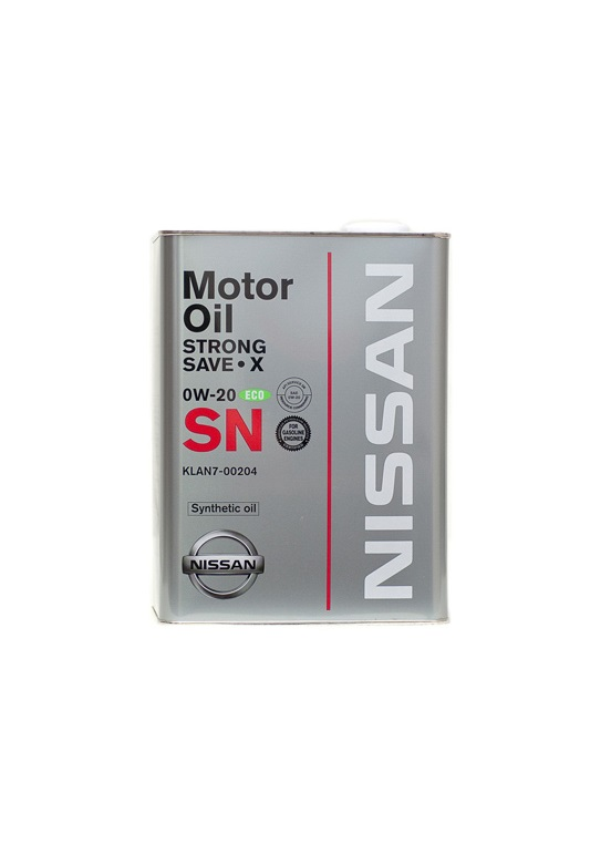 NISSAN SM STRONG SAVE X 0W20 4л