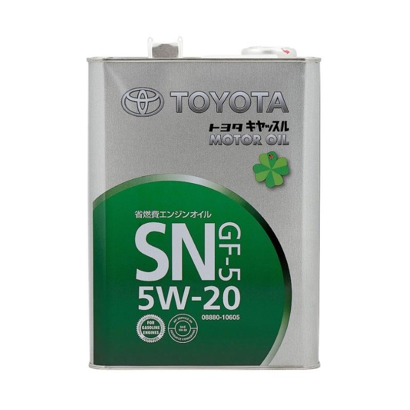 TOYOTA 5W20 SN,GF-5 4л