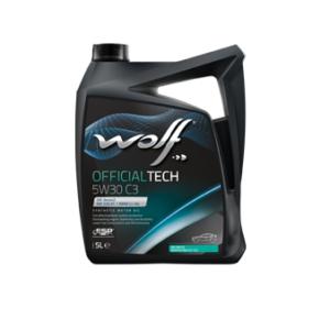WOLF Officialtech 5W30 C3 4л