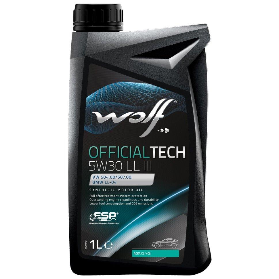WOLF Officialtech 5W30 LL III 1л