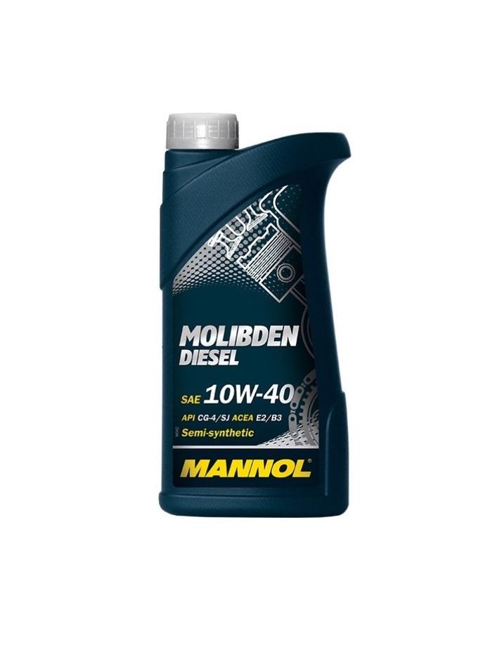 10W40 MANNOL Molibden Diesel 1л
