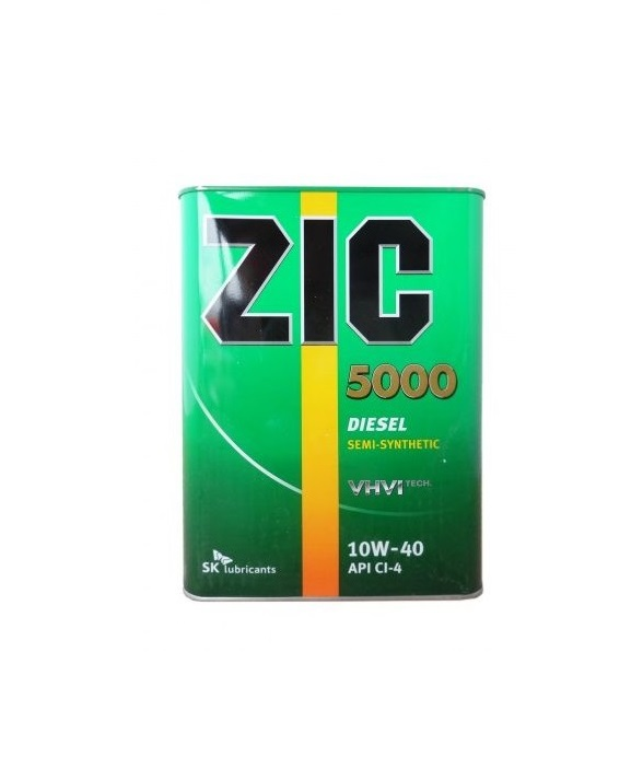 10W40 ZIC 5000 CI-4 4л