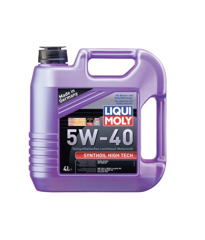 5W40 LIQUI MOLY Syntoil High Tech 4l