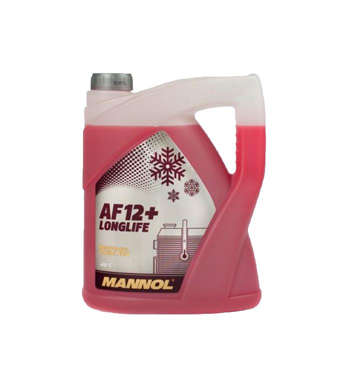 AF12+ MANNOL антифриз (-40 красный) LONGLIFE 5л