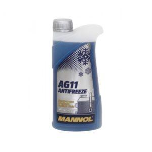 AG11 MANNOL антифриз (-40 синий) LONGTERM 1л