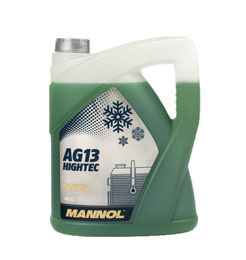 AG13 MANNOL антифриз (-40 зеленый) HIGHTEC 5л