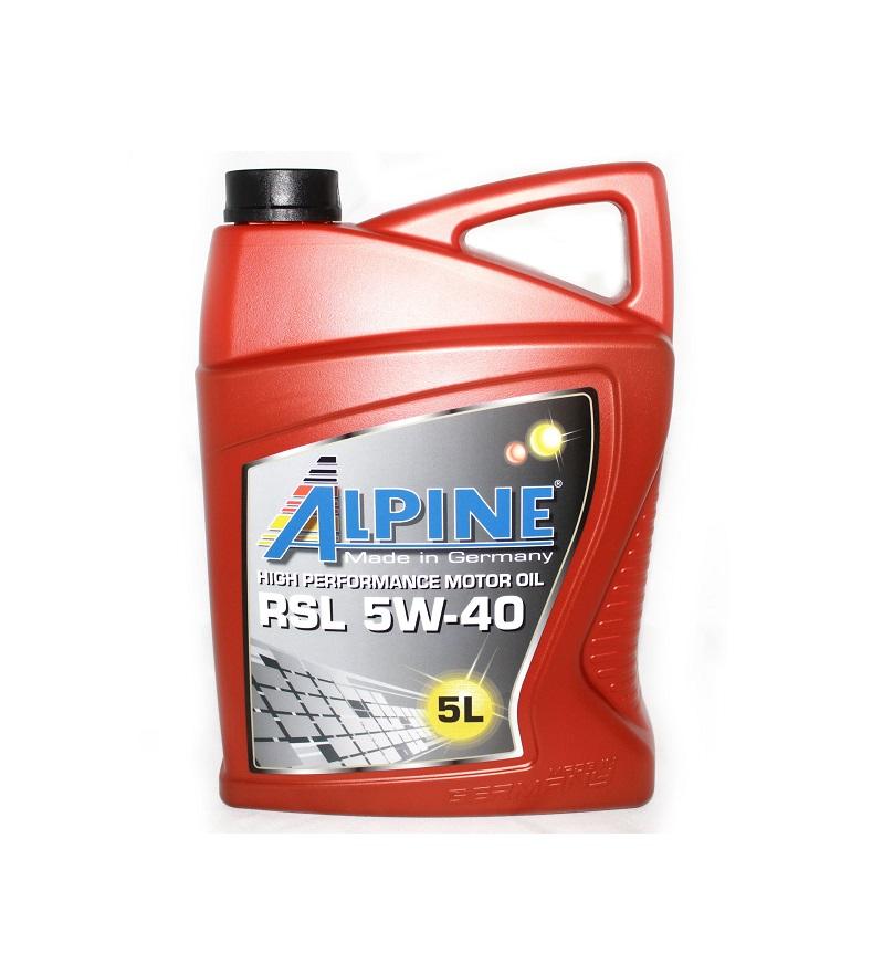 Alpine RSL 5W-40 5л