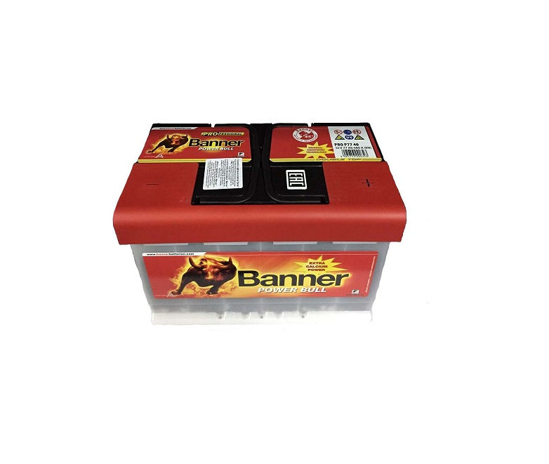 Аккумулятор BANNER POWER BULL PRO 77A/H 680A