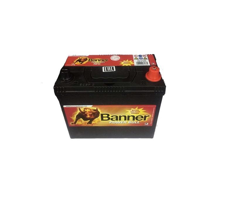 BANNER POWER BULL JAP R+ 45A/H 390A