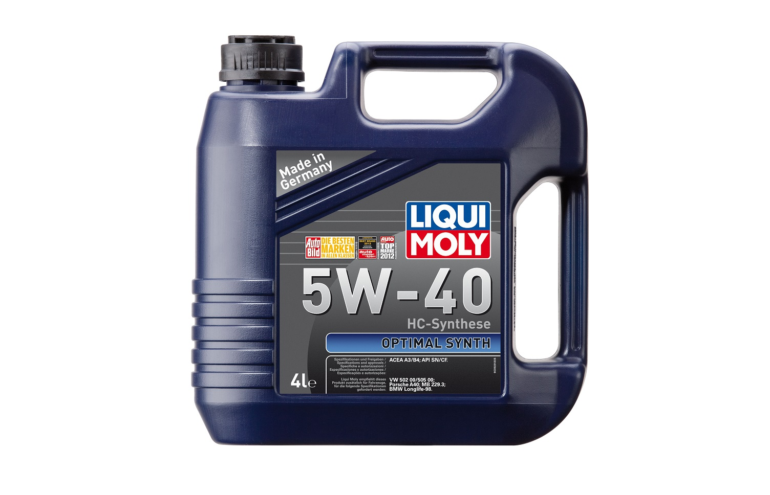 LIQUI MOLY OPTIMAL LM 5W40 SN,CF A3,B4 4л