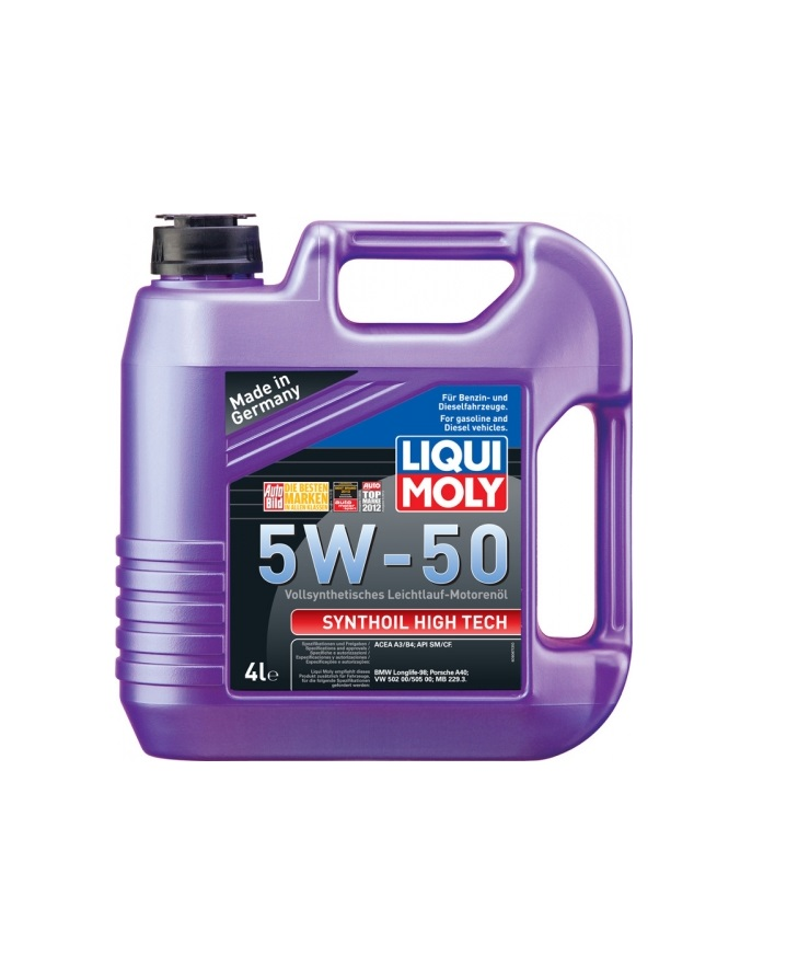 LIQUI MOLY Syntoil High Tech 5W50 4л
