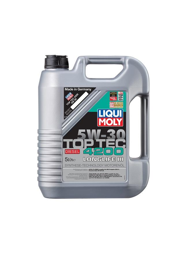 LIQUI MOLY Top Tec 4200 Diesel 5W30 C3 5л