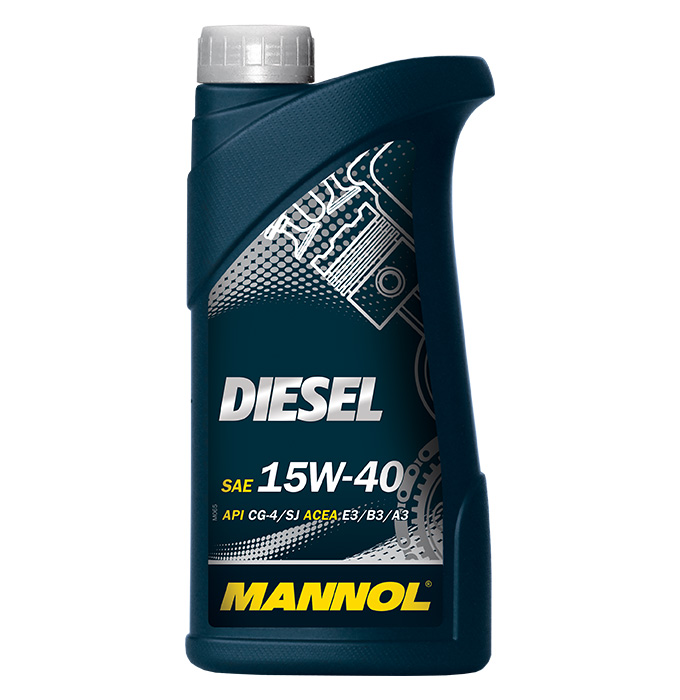 MANNOL Diesel 15W40 1л