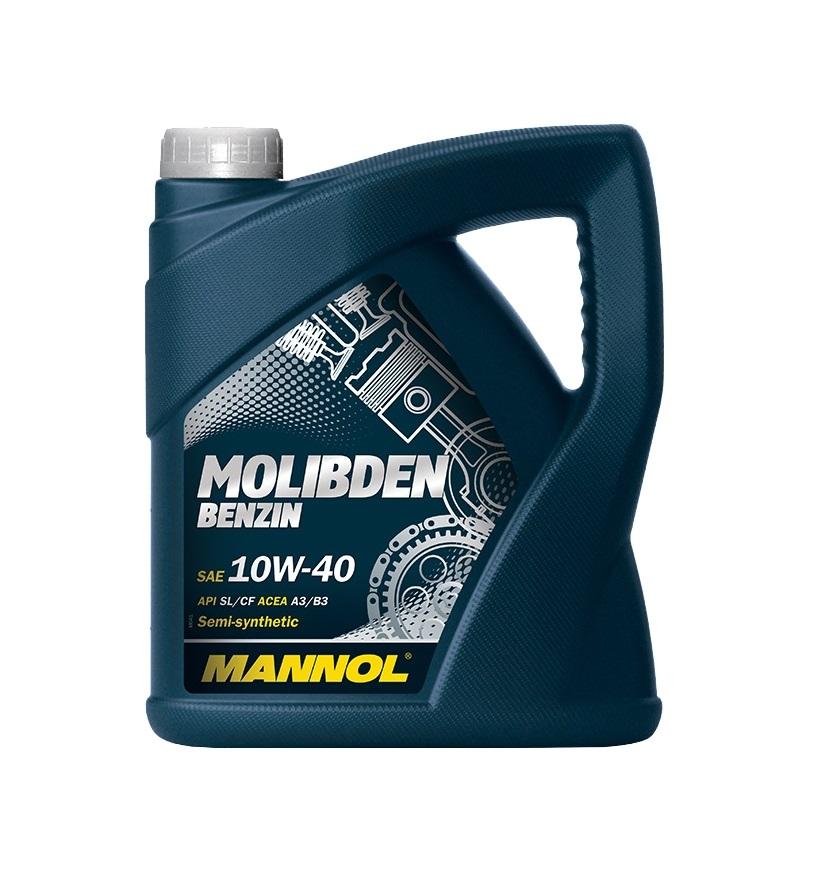 MANNOL Molibden Benzin 10W40 4л