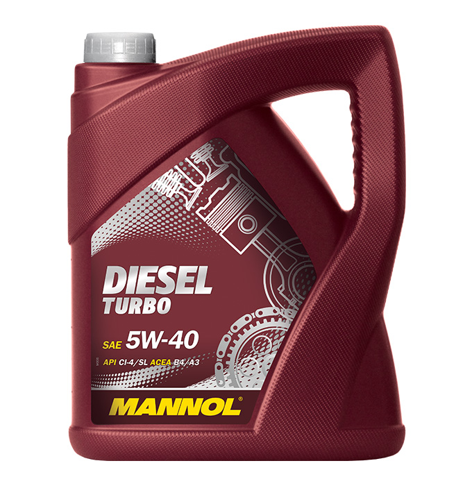 MANNOL Turbo Diesel 5W40 5л