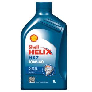 SHELL Helix Diesel HX7 10W40 1л