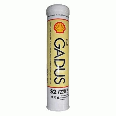 hell Gadus S2 V220 AD 2 - (старое название - Shell Retinax HDX 2) Shell Gadus S2 V220 AD 2- это смазка с очень высокими эксплуатационными характеристиками для работающих в чрезвычайно тяжелых условиях агрегатов автомобилей. Shell Gadus S2 V220 AD 2 основана на высокоиндексном минеральном масле и смешанном литиево-кальциевом мыле в качестве загустителя. Смазка содержит композицию присадок, улучшающих ее противозадирные, антиокислительные, противоизносные, противокоррозионные и адгезионные свойства. Она также содержит дисульфид молибдена, обеспечивающий стойкость к ударным нагрузкам. Область применения Shell Gadus S2 V220 AD 2 рекомендуется для: Смазывание подшипников внедорожной техники, работающих в тяжелых эксплуатационных условиях и подверженных ударным нагрузкам при высокой влажности и неблагоприятных условиях окружающей среды. Опорно-сцепные устройства седельных тягачей («пятое колесо») Преимущества Высокая механическая стабильность Сохраняет исключительно высокую смазывающую способность даже под действием вибрации. Структура смазки стабильна и не способствует утечкам. Эффективные противозадирные свойства Обеспечивают надежное смазывание тяжелонагруженных узлов. Хорошие адгезионные свойства в условиях высоких, в т.ч. ударных нагрузок Отличная водостойкость в условиях ударных нагрузок Обеспечивает постоянную надежную защиту важных узлов. Одобрения Shell Gadus S2 V220 AD 2 содержит 3% MoS2 что отвечает требованиям Caterpillar и Volvo. Диапазон рабочих температур От -20°C до +130°C (140°C кратковременно) Подача Shell Gadus S2 V220 AD 2 может подаваться в узел трения с помощью обычного смазочного оборудования