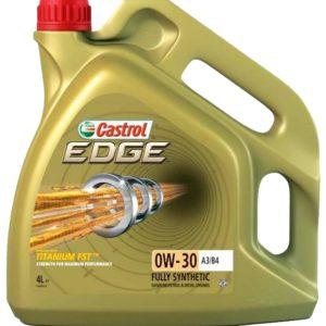 0W30 CASTROL EDGE 4 L