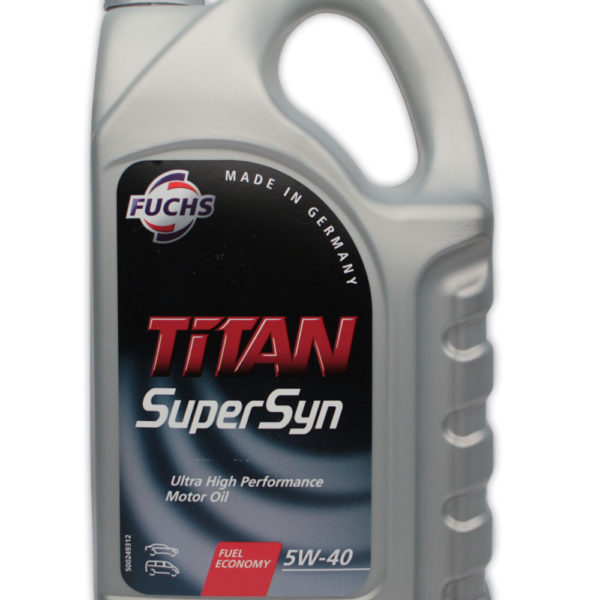 5W40 FUCHS TITAN Supersyn Longlife 4L