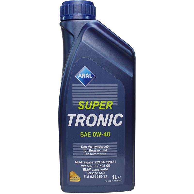 ARAL Super Tronic 0W40 1л