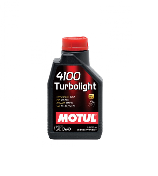 10W40 MOTUL 4100 Turbolight 1l
