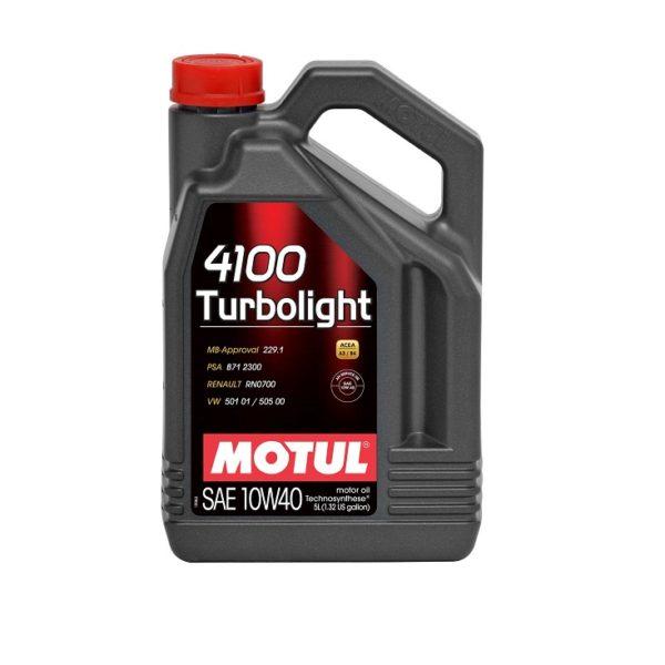10W40 MOTUL 4100 Turbolight 4l