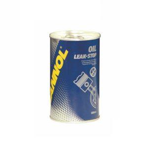 MANNOL Oil Leak-Stop – специальная добавка в моторное масло, уплотняющая систему смазки. Укрепляет структуру поверхности поршневых колец и гидрокомпенсаторов, восстанавливает эластичность прокладок и снижает расход масла на поршневых кольцах за счет сохранения вязкости моторного масла. Рекомендуется применять в экстремальных условиях эксплуатации, при высоком расходе масла и неустойчивой работе двигателя. Этот продукт совместим с любым типом моторного масла и применим для любого типа двигателя. Препарат добавляется (предварительно обязательно взболтать содержимое) при рабочей температуре двигателя. Содержимого флакона (300 мл) достаточно для использования в двигателях с объёмом масляной системы до 6 литров.