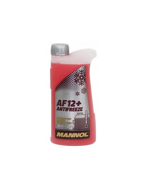 AF12+ MANNOL антифриз (-40 красный) LONGLIFE 1л