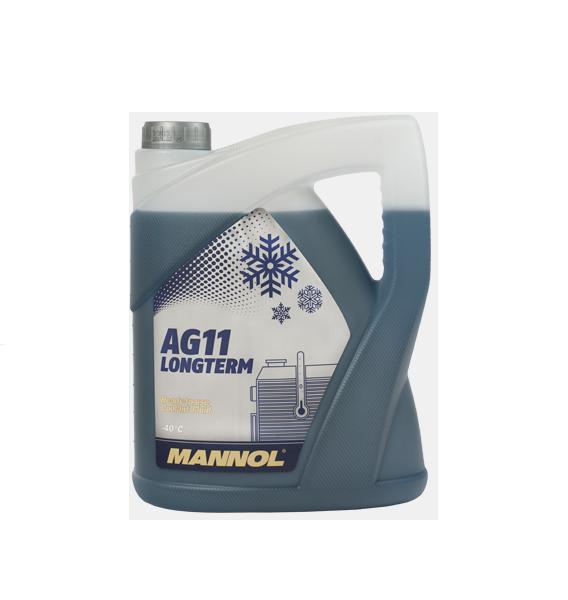 AG11 MANNOL антифриз (-40 синий) LONGTERM 5л