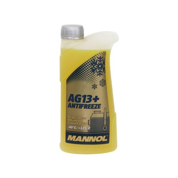 AG13+ MANNOL антифриз (-40 желтый) ADVANCED 1л