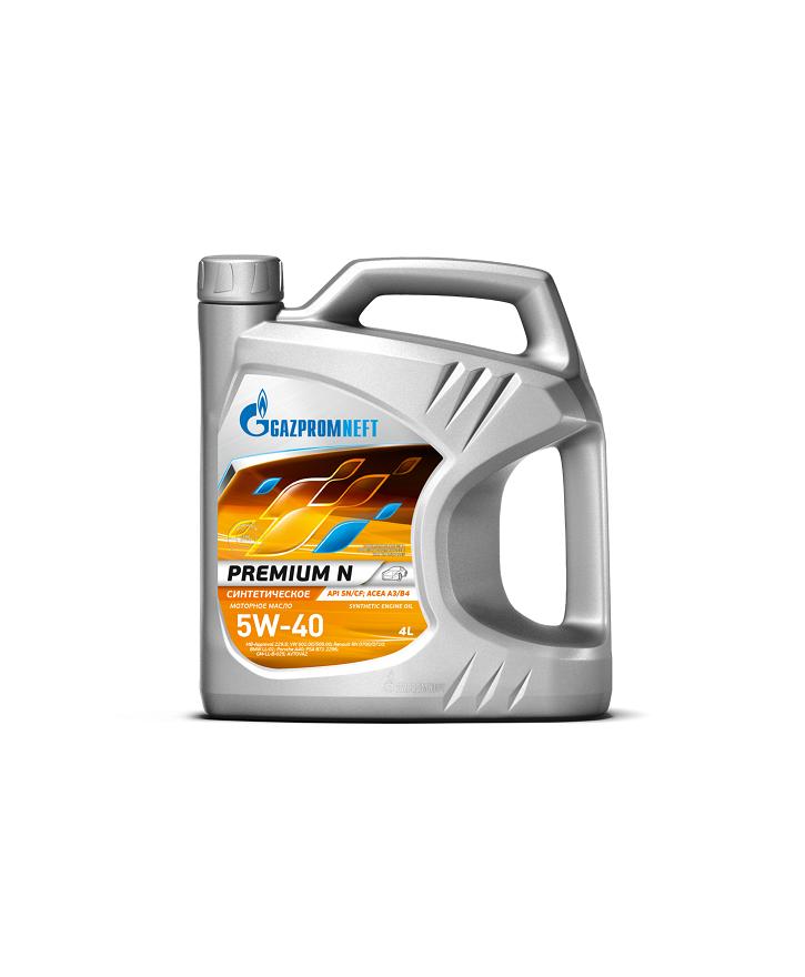 GAZPROMNEFT 5W40 Premium N 4л