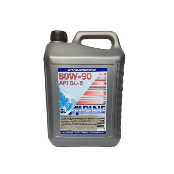 80w90 ALPINE GEAR OIL GL-5 5л