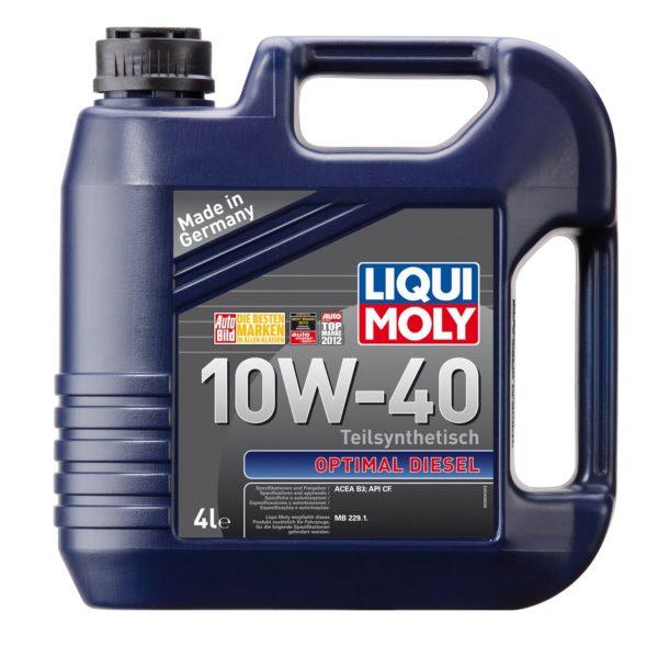 LIQUI MOLY OPTIMAL DIESEL LM CF B3 10W40 4л
