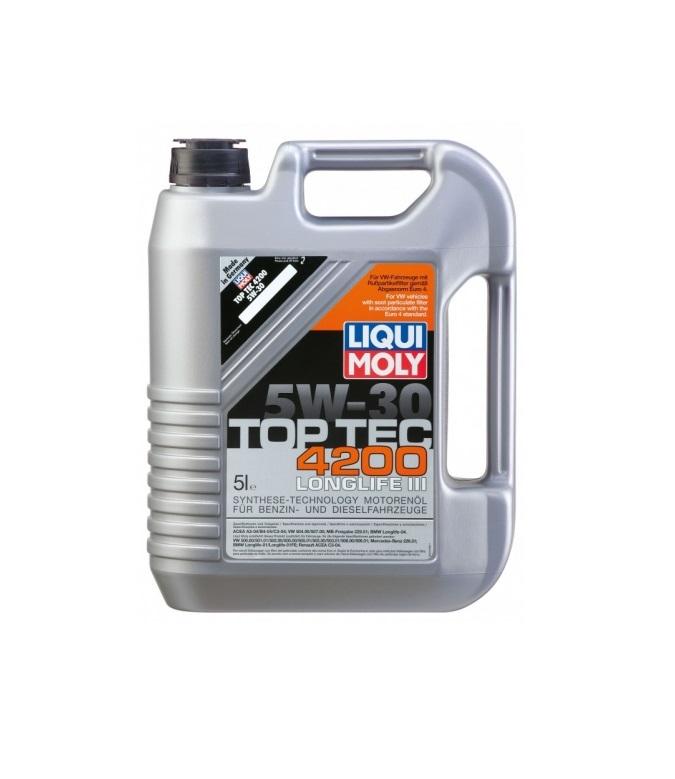 LIQUI MOLY Top Tec 4200 5W30 SM,CF A3,B4,C3 5л