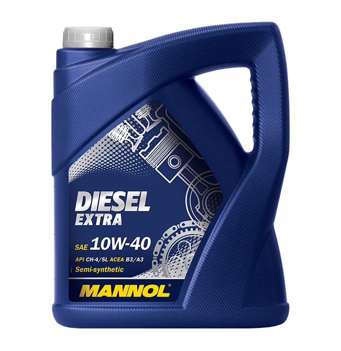 MANNOL Diesel Extra 10W40 5л