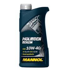 MANNOL Molibden Benzin 10W40 1л