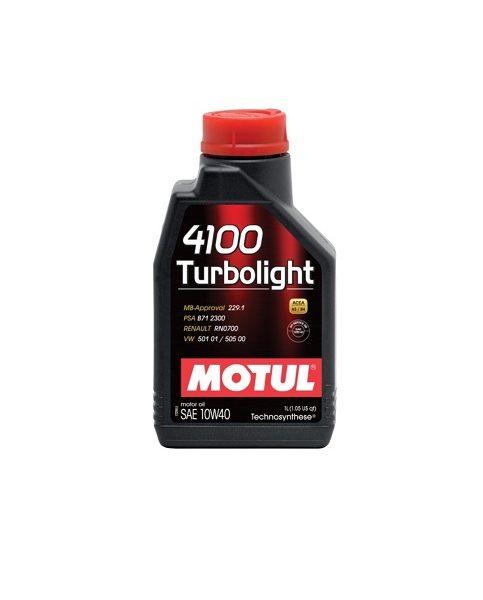 MOTUL 4100 Multidiesel 10W40 1л