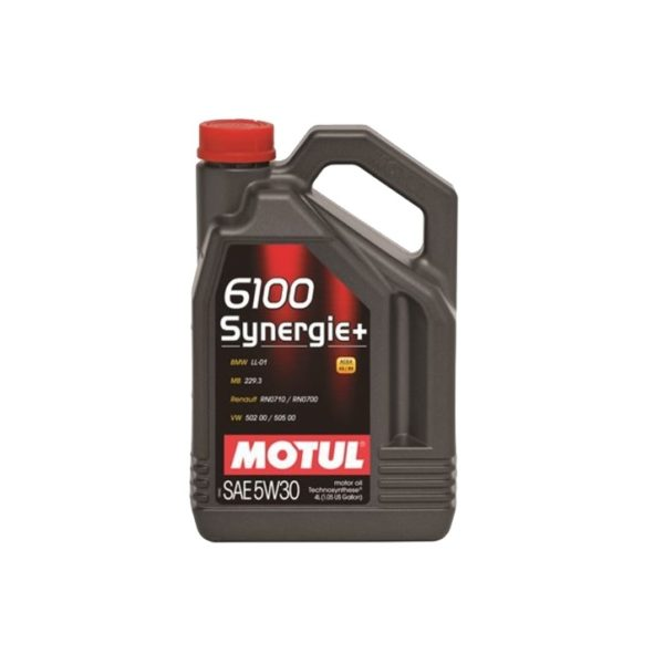 MOTUL 6100 Synergie+ 5W30 4л