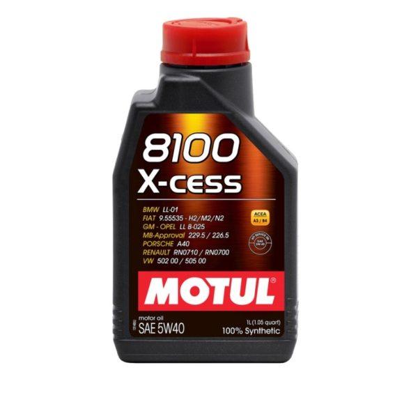 MOTUL 8100 X-cess 5W40 1л