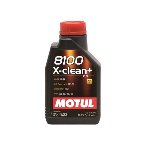 MOTUL 8100 X-clean C3 5W30 1л