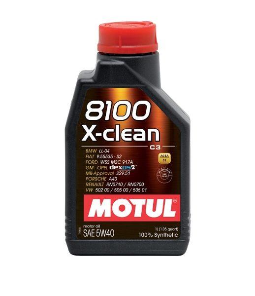 MOTUL 8100 X-clean C3 5W40 1л