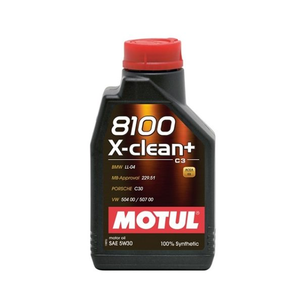 MOTUL X-clean+ 5W30 1л