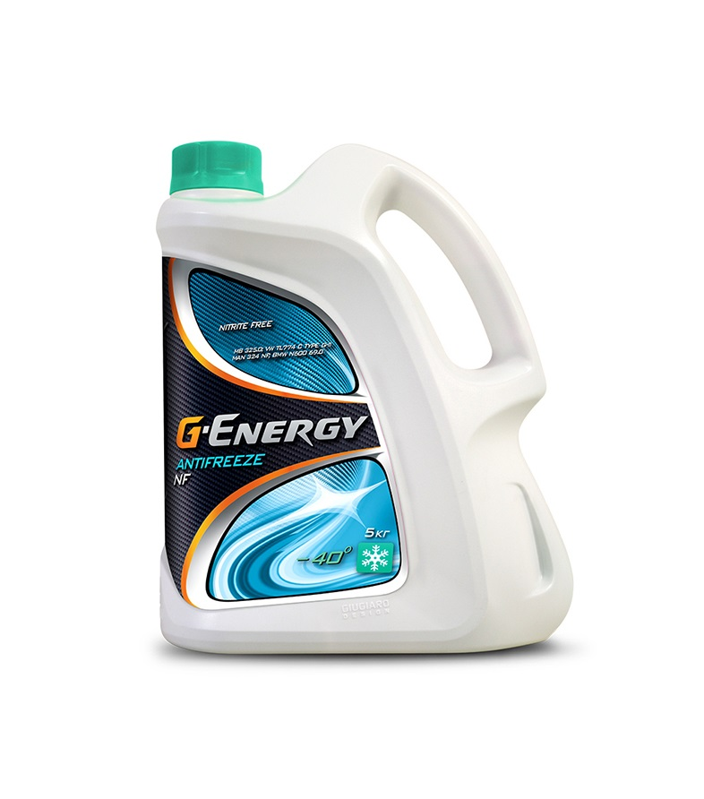 NF40 G-ENERGY Antifreeze зеленый 5л