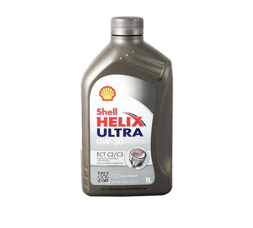 SHELL Helix Ultra ECT C2.C3 0W30 1л